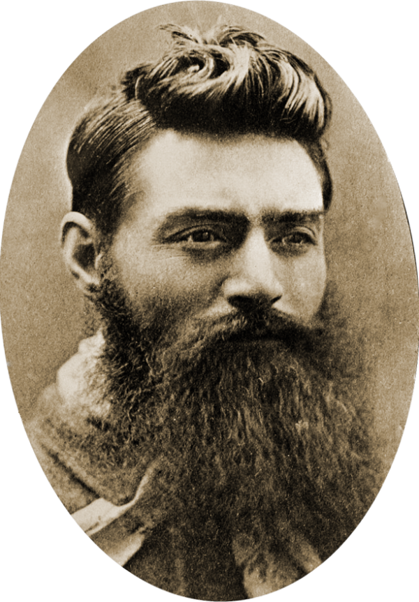 Ned Kelly and his iconic beard