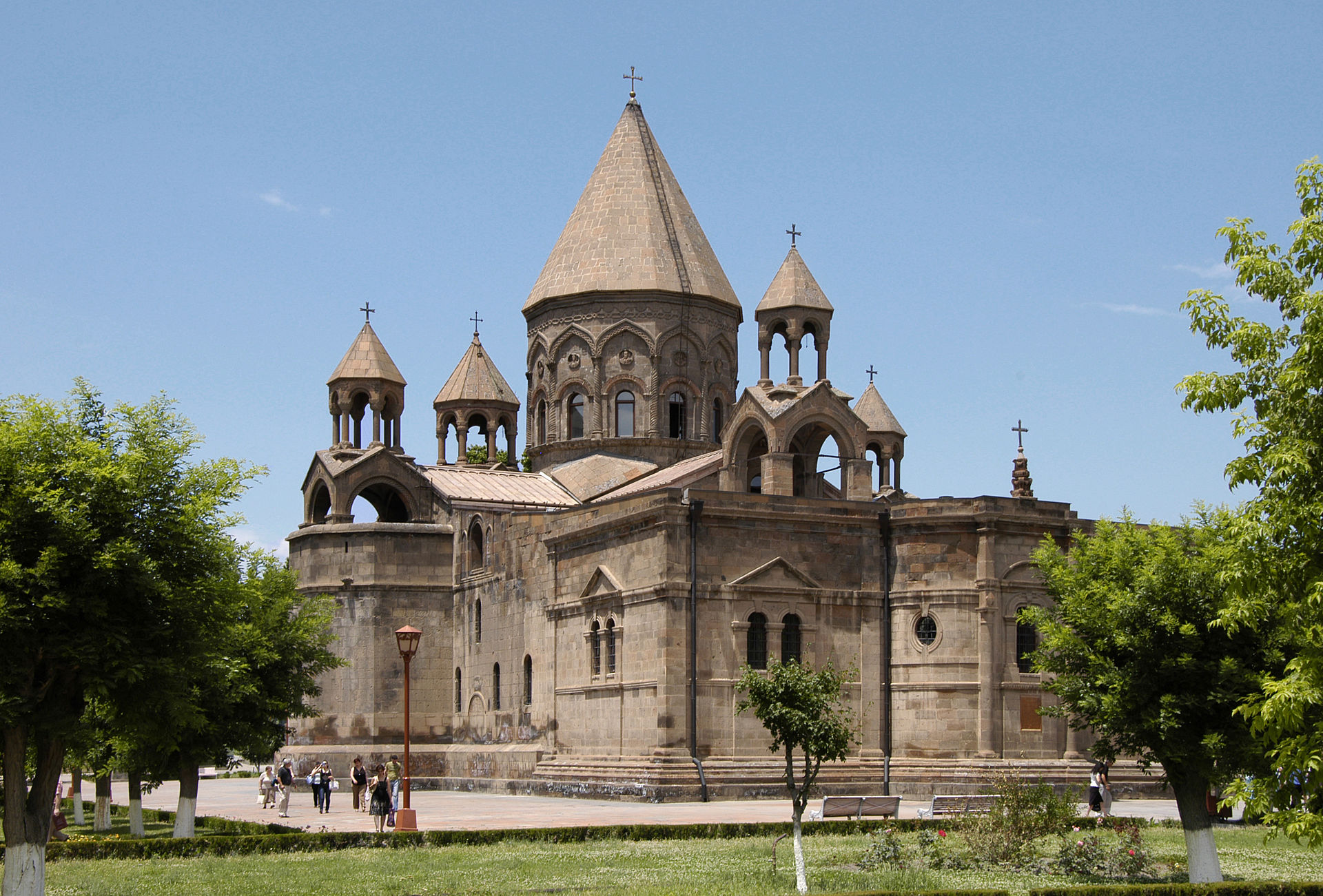 Etchmiadzin. The world's first Cathedral